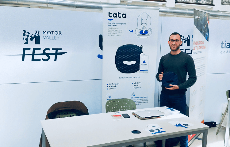 Tata al Motor Valley Fest a Modena - Dispositivo Salva Bebè Anti Abbandono