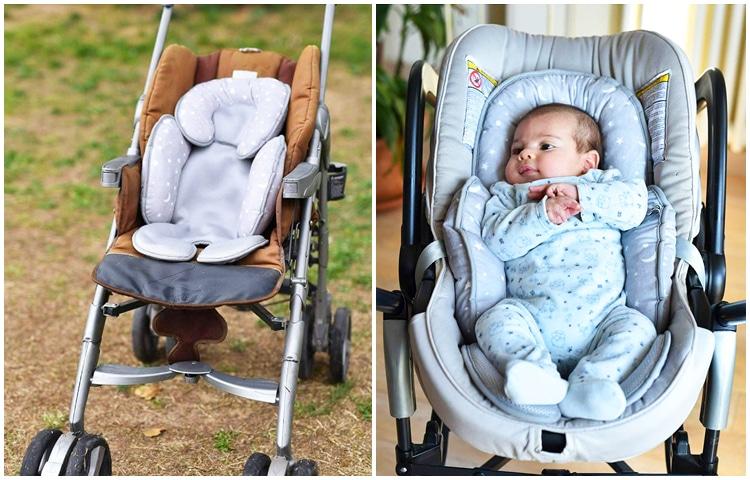 Passeggino con riduttore, un accessorio per passeggino necessario nei primi mesi del bimbo