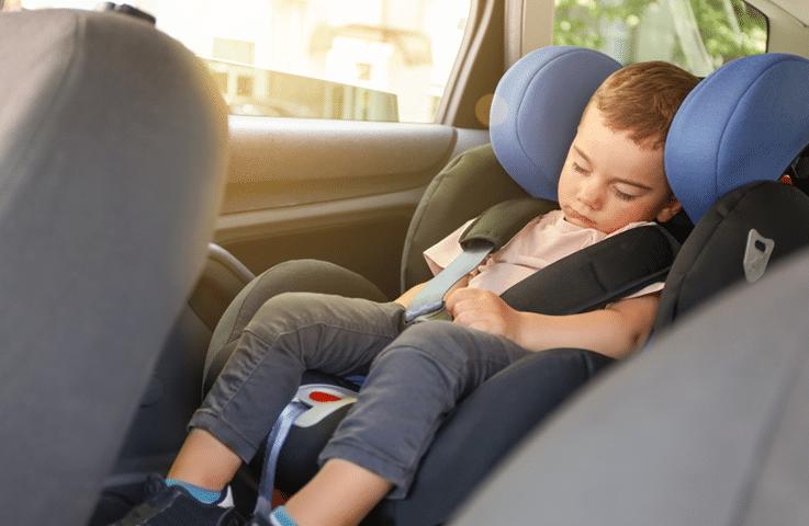 Seggiolino auto reclinabile